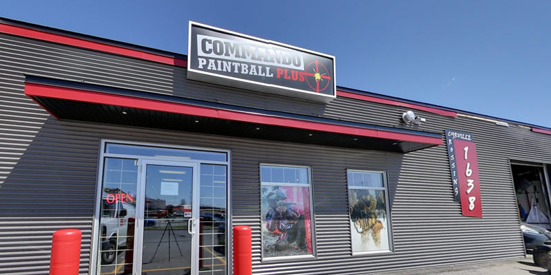 paintball plus Commando Action Centre Paintball Store in Ottawa