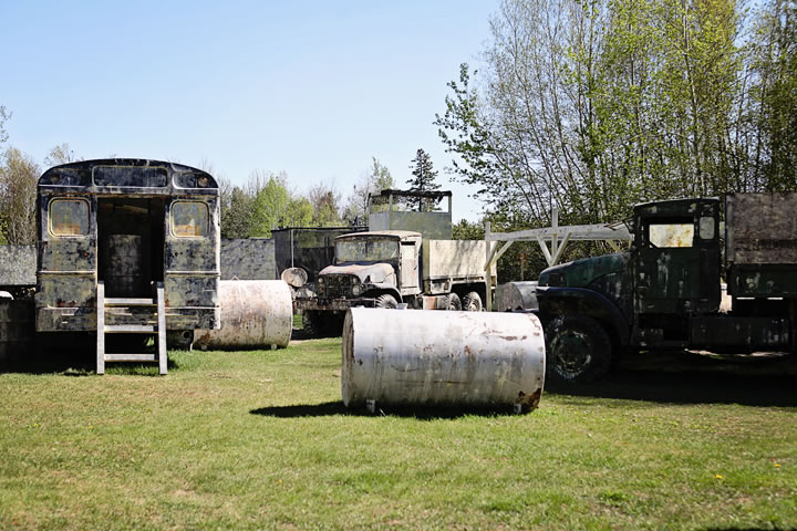 Army Base at Commando Action Centre paintball in Ottawa