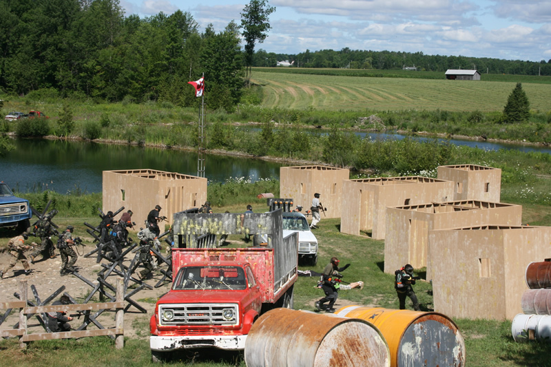 D Day Event at Commando Action Centre paintball in Ottawa