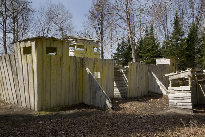Fort at Commando Action Centre in Ottawa