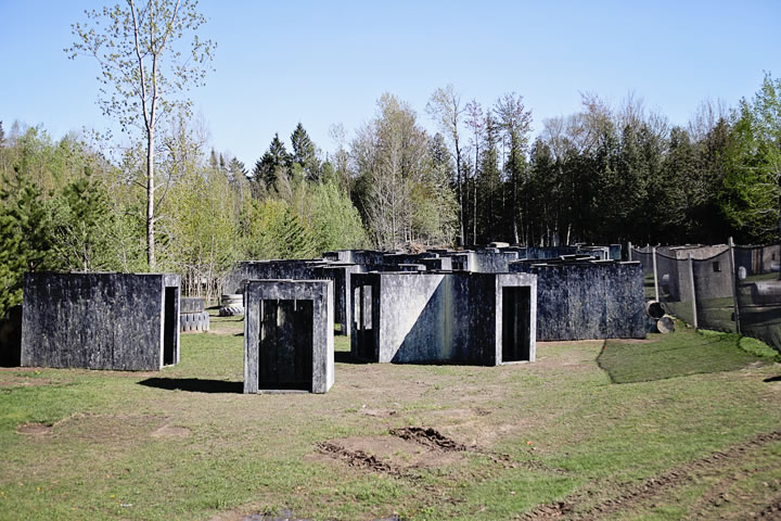 The Village at Commando Action Centre paintball in Ottawa