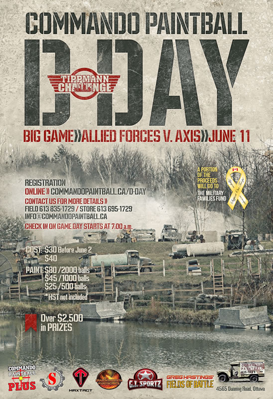 Commando Paintball D-Day 2017