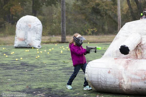 Commando Action Centre Bazooka Ball