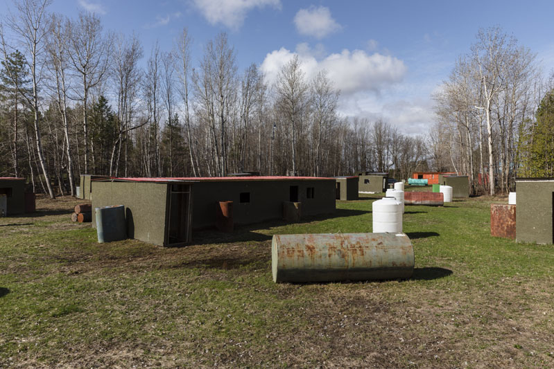 paintball field in Ottawa