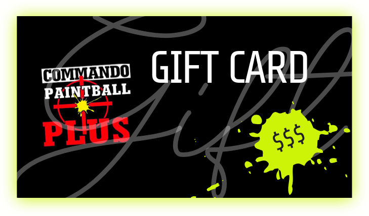 gift card for commando paintbal